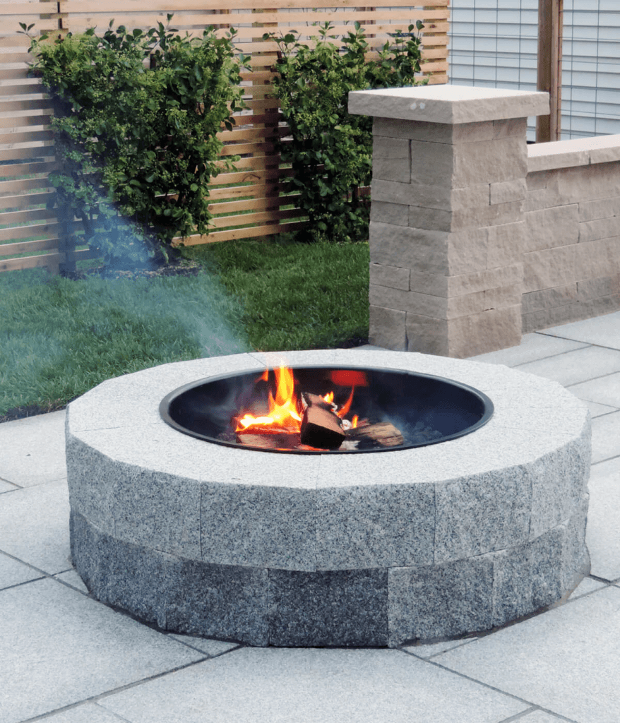 Photo of a Swenson Granite Works Firepit